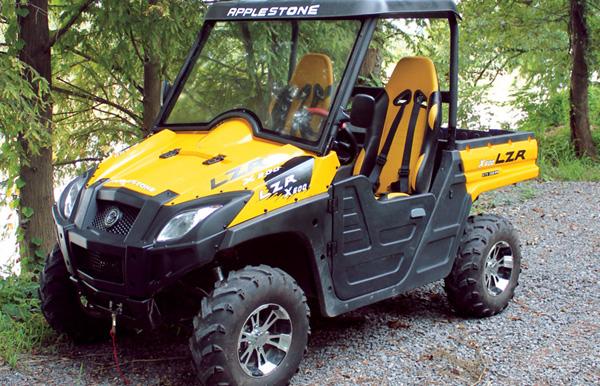 Yellow Applestone LZR 1100 CC UTV Vehicle