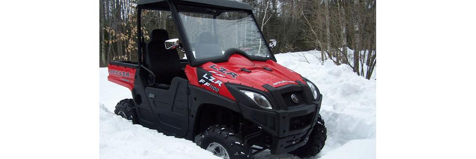 Red Applestone LZR 1100 CC UTV Vehicle